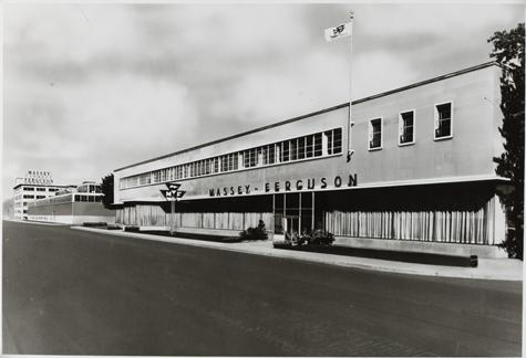 One of the four buildings which make up the Massey Ferguson Brantford Plant    1964