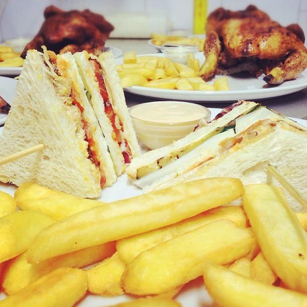 Oggi sul pass del #chickenco #clubsandwich...un modo alternativo per gustare il #galletto! by Chick, via Flickr