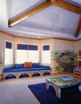 Thomas The Train Bedroom For Ventura County New West Symphony Design House  Tunnels