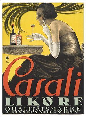 Theo Matejko, Casali Likoere Wien, 1921