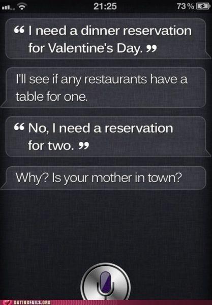 That's funny, Siri !