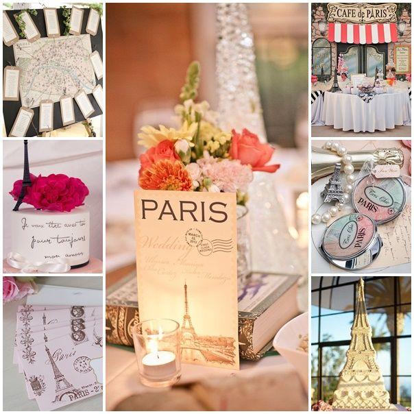 Mon mariage romantique sur le thème de Paris, quel enchantement !