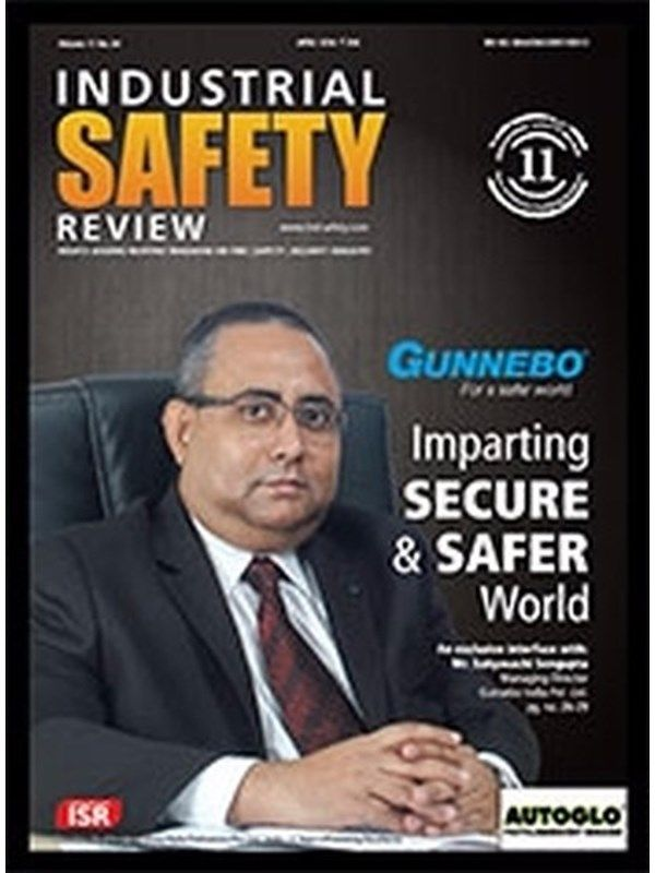 Industrial Safety Review May 2016 Issue- Imparting SECURE & SAFER World : Gunnebo India  #IndustrialSafetyReview #MrSabyasachiSengupta #GunneboIndia #ebuildin