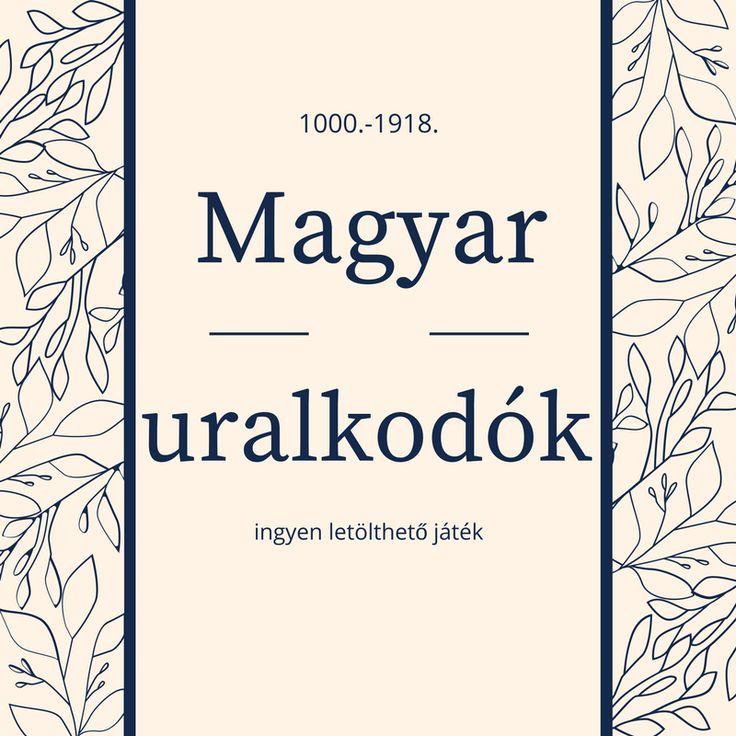 Magyar uralkodók – ingyen letölthető játék