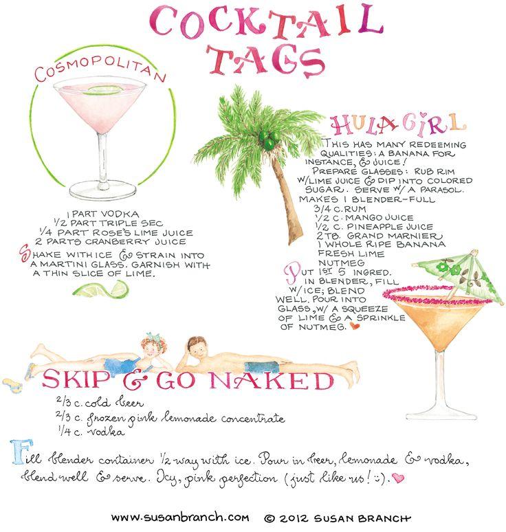 cocktail recipes | Susan Branch Blog