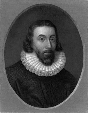 Learn About the Founding of Massachusetts Colony: Portrait of John Winthrop, Governor of Massachusetts Bay Colony