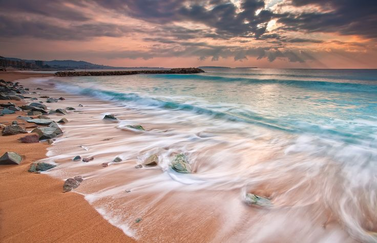 Cannes La Bocca (French Riviera) by Eric Rousset, via 500px — (Iles Ste Marguerite and St Honorat on the horizon)