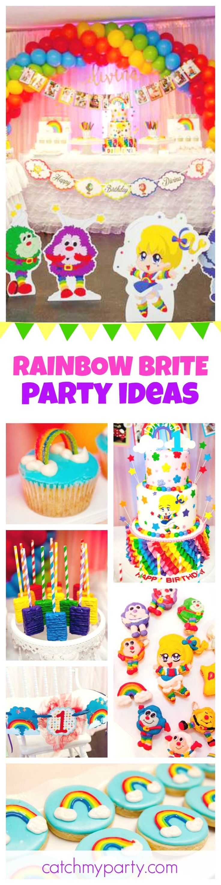 721 best rainbow party ideas images on pinterest birthday party