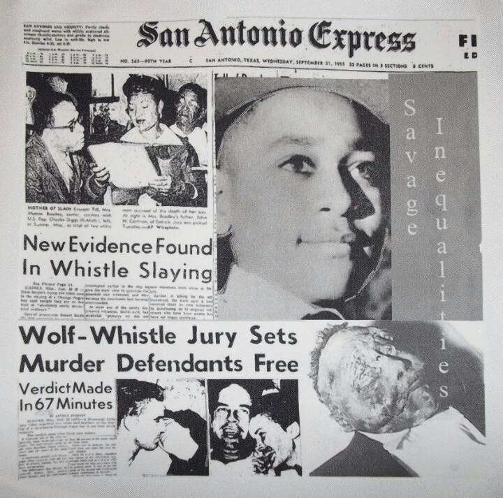 Today Emmett Till would have been 72 years old. Emmett was savagely beaten and shot through the head for whistling at a white woman in His body was found ...