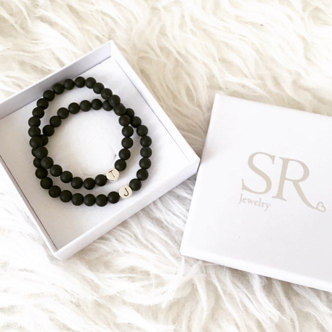 Partnerarmband Mit Gravur Armband Perlenarmband Armband Perlen