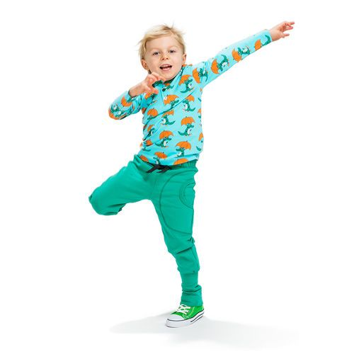 NOSH Long Sleeve T-Shirt. Mr. Croc's contagious good mood will keep everybody happy and active!