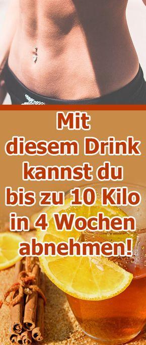 Mit diesem Drink kannst du bis zu 10 Kilo in 4 Wochen abnehmen
