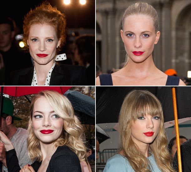 how to achieve red lips