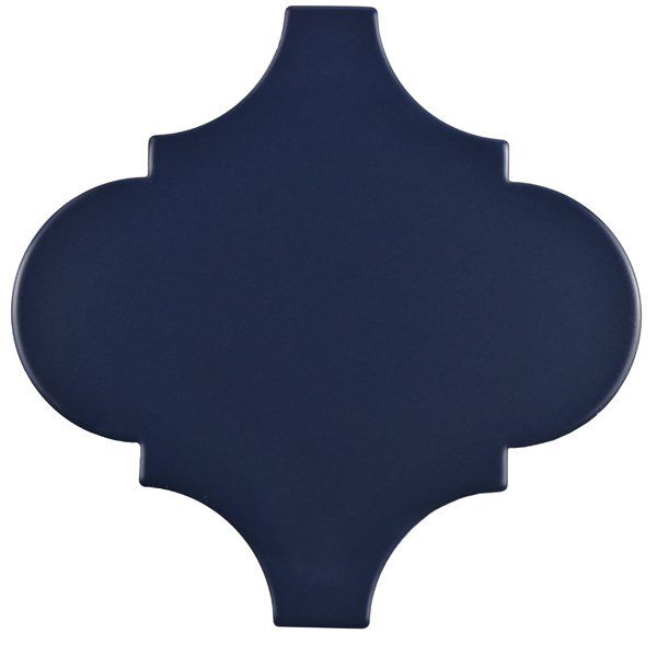 The Marcello porcelain floor and wall tile in lantern blue brings a pop of blue to the room in a classic lantern shape. This impervious, high sheen tile is great for any style. This tile can be used in any indoor or outdoor living space.