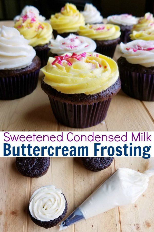 Sweetened Condensed Milk Buttercream Frosting Frosting Recipes Easy Frosting Recipes Sweet Sauce Recipes