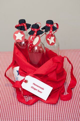 Be creative with your Christmas hampers-Homemade Gingerbear