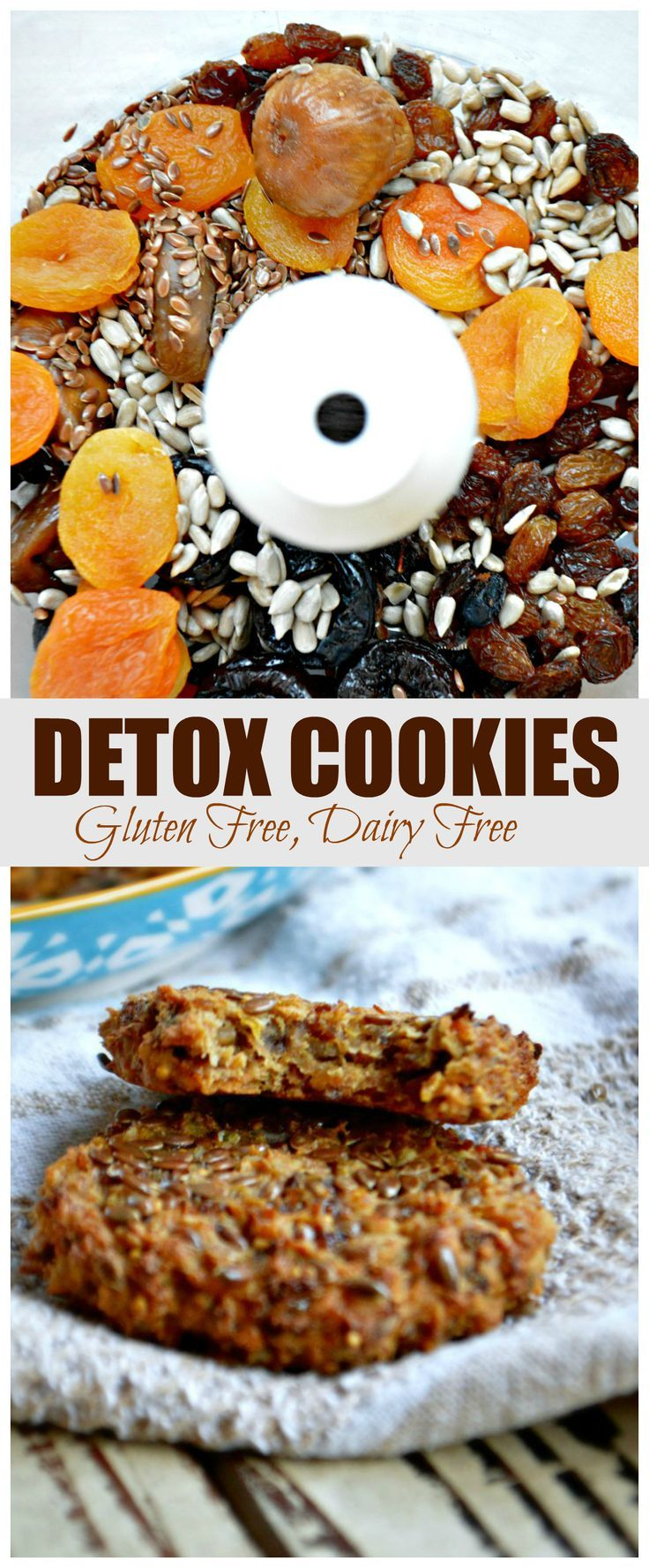 I keep making for detox cookies for breakfast such a great booster for my day…