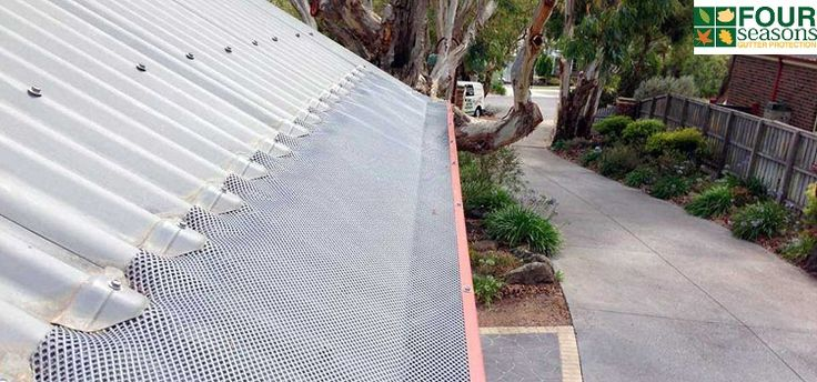 Protect your home all year round with our Australian #gutter guard and #leaf_protection system. Keep your #home safe and leaf free. Four Seasons is the number one #gutter_guard and gutter mesh supplier, installer and manufacturer in Australian and New Zealand. That's why our company will custom manufacture your gutter mesh, clean your gutters, install your gutter guards and offer the longest possible warranty.