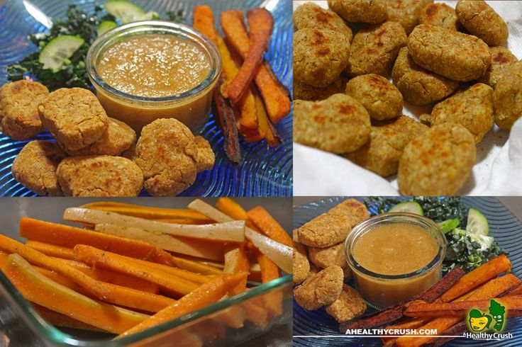 CHIC'N NUGGETS WITH SQUASH FRIES | DR. SEBI APPROVED – A HEALTHY CRUSH | JUICE HUGGER