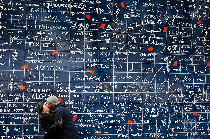 Love wall - Paris 18e Montmartre, Place des Abbesses. I need to go there!!!