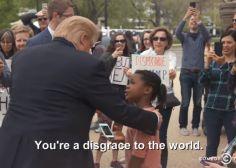 Cette petite fille dit tout haut ce qu'elle pense à Donald Trump (enfin presque)