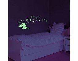 Naklejka świecąca w ciemności Fairy Stars