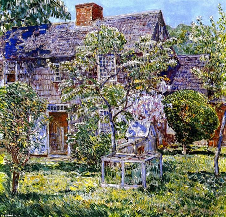 Frederick Childe Hassam  - Old Mulford House, East Hampton,