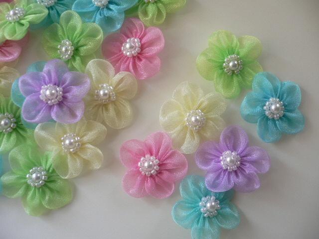 lovely Organza flower