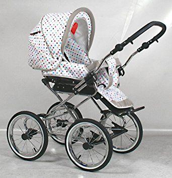 Wunderschöner Retro Kinderwagen Babywagen 3in1 (101): Amazon.de: Baby