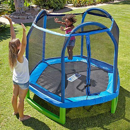 Sportspower 7FT My First Trampoline & Enclosure   Kids   George at ASDA