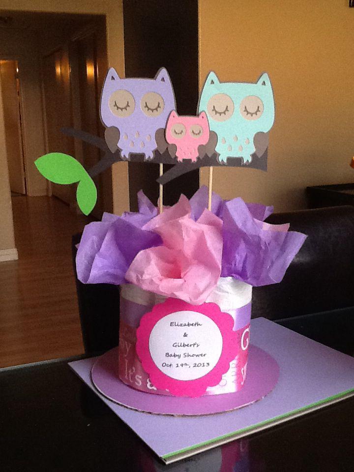 owl baby shower centerpiece baby shower pinterest