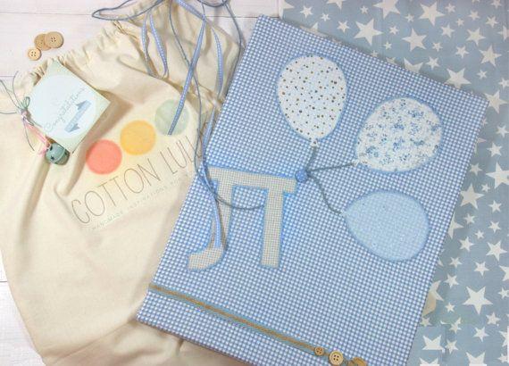 Boy's nursery decoration/Personalized baby's by CottonLullabyShop