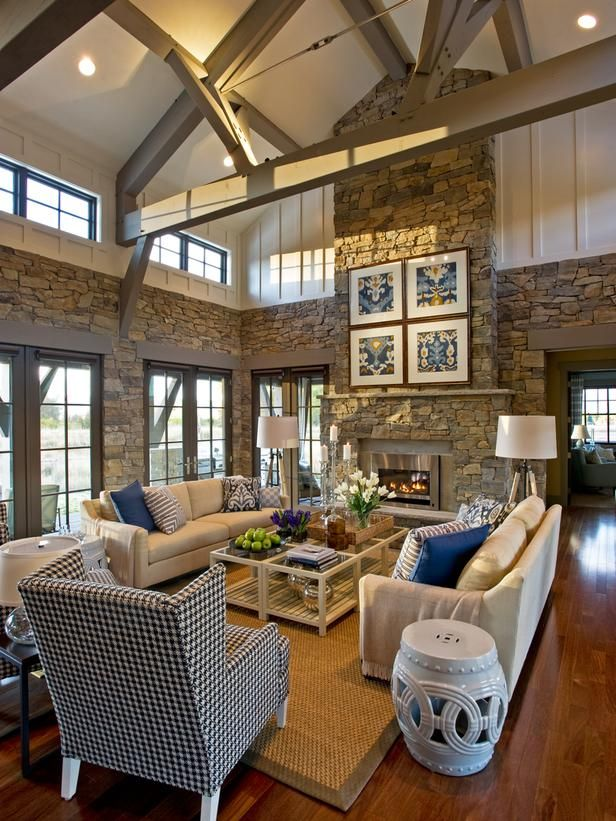 This is taken from the 2012 HGTV Dream Home--I love how airy and open it is and LOVE the colors!