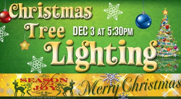 Join us on December 3 at Marlin Circle from 5:30pm - 7:00pm as the City of Orange Beach hosts its Official Tree Lighting at the Wharf. This free event is open to all ages. Community groups will have hot chocolate, arts and crafts and cookie decorating booths. Santa will arriving on a fire truck!