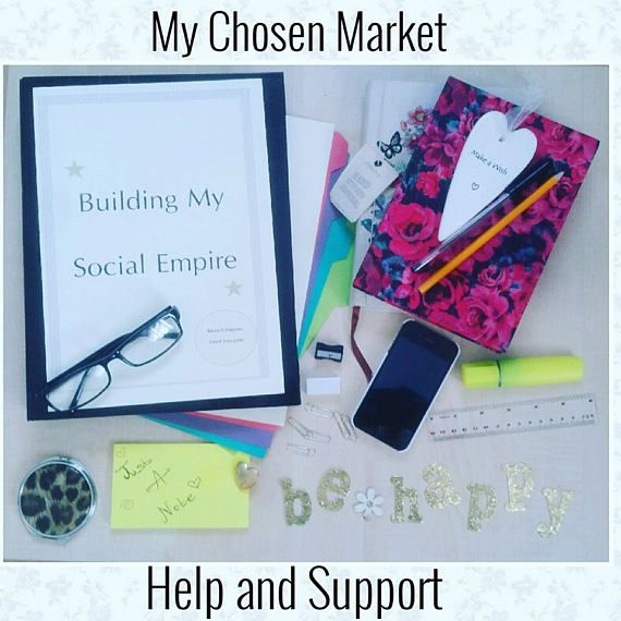 Finding my Chosen Market, Online Social media support,  Social media help and advice, Craft Business, Business Journal, Market Research