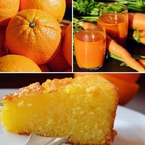 Torta ACE multivitaminica - Arancia, Carota e Limone. Un dolce semplice che aiuta a limitare istintivamente l'assunzione giornaliera di calorie.