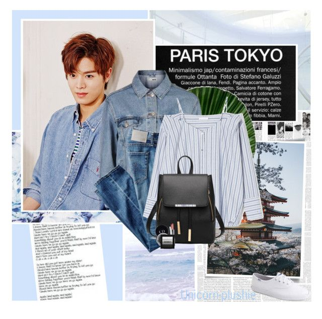 """""""361:Yuta Nakamoto"""" by unicorn-plushie ❤ liked on Polyvore featuring Again, Topshop, AG Adriano Goldschmied, Keds and Christian Dior"""