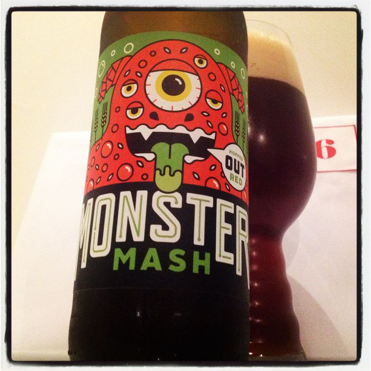 Day 6 of my #giantbeeradventcalendar Monster Mash Hopped Out Red