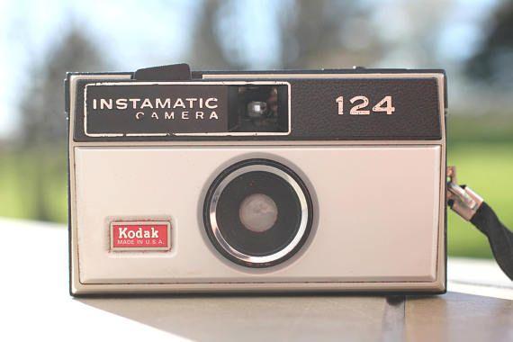 Vintage Kodak Instamatic 124, Caméra Kodak Instamatic, Vintage, Caméra Vintage, Appareil Photo Argentique, Rétro