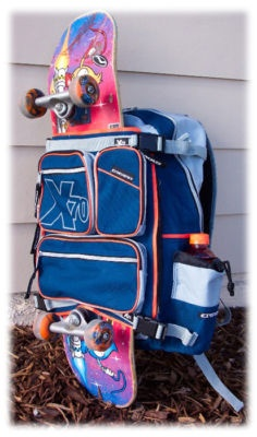 EXSEVENTY X70 DELUXE SNOWBOARD SKATEBOARD BACKPACK - I love the selection from ecWorld Imports on eBay. Great product, great price, great value.