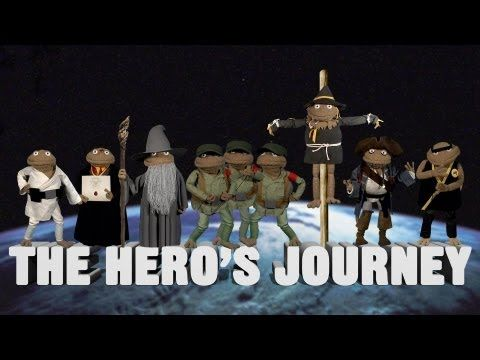 The Hero's Journey    Fafa explains Joseph Campbell's famous theory.    facebook.com/gloveandboots