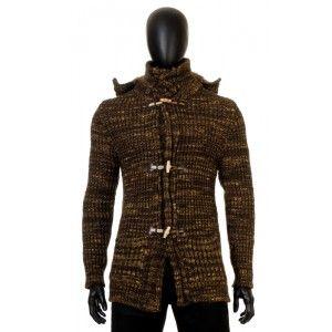 Antony Morato - brązowy sweter z kapturem