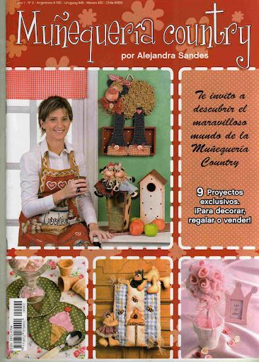 REVISTA MUÑEQUERIA COUNTRY
