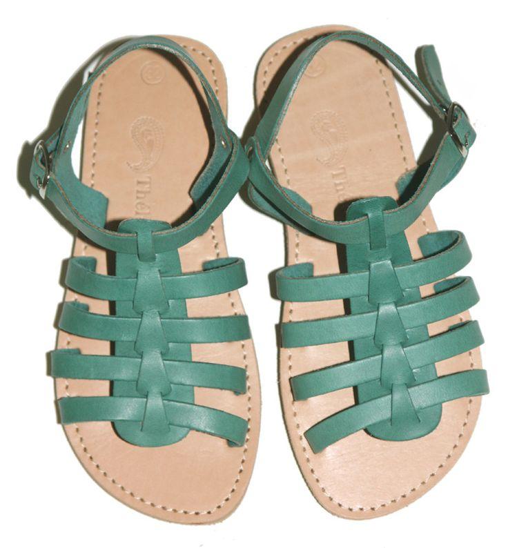 Theluto sandalen grijsgroen (maat 24-35)