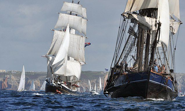 Hop the Channel and meet the first sea lords this summer as the Brest International Maritime Festival returns to the Breton port