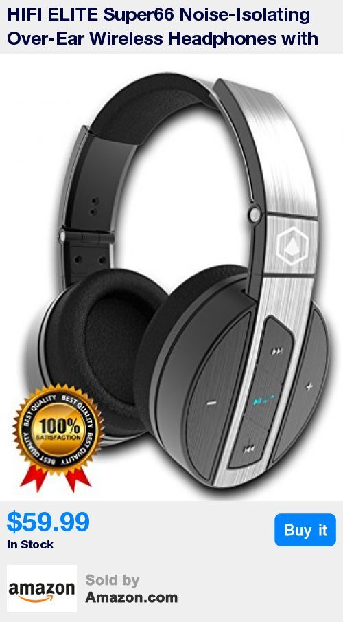 """Amazon Prime, Cyber Monday Deal, The worlds #1 Best Value Hi-Fidelity Premium Headphones on the market. Distortion free audio even at the highest volume level. * Deep, powerful and balanced sound for music, movies and games from your smartphones or tablets. Noise isolating for travel, work, on the go or wherever life takes you. * CNET: """"these noise-isolating over-the-ear 'phones look and sound like they cost a lot more."""" """" the Super 66s look and feel substantial, with a brushed-metal band"""