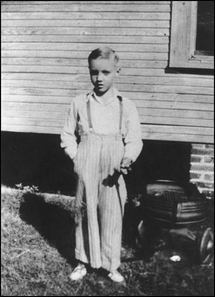 Elvis was a shy boy, but he made plenty of lifelong friends in Tupelo.