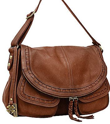 Lucky Brand Modesto Stash Flap Saddle Bag