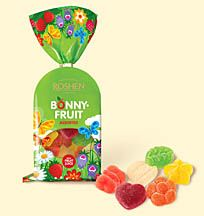 Bonny Fruit Jelly Candy Assortment - Soft jellies are lightly dusted with sugar. The colorful shapes are fun, and taste great! For kids as well as adults - the mixed flavors include grapefruit, lemon, pineapple, strawberry, apple, orange, mango, pear, melon, banana and more.