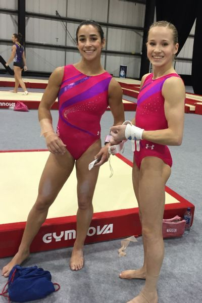 Aly Raisman: We're Here To Defend Our World Team Title